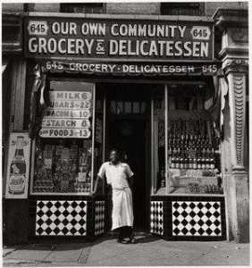 Aaron Siskind - Grocery Store
