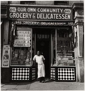 Grocery Store, 1940 by Aaron Siskind (1903-1991, United States) | Painting Copy | WahooArt.com