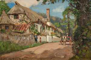 Patrick Downie - A Devon Lane