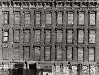 Facade, Unoccupied Building, 1937 by Aaron Siskind (1903-1991, United States) | Museum Quality Reproductions | WahooArt.com