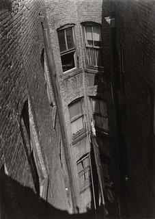 Air Shaft, 1940 by Aaron Siskind (1903-1991, United States) | Famous Paintings Reproductions | WahooArt.com