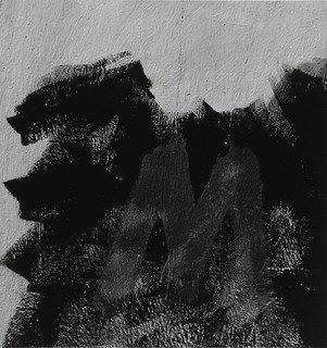 Jalapa 38 (Homage to Franz Kline), 1973 by Aaron Siskind (1903-1991, United States) | Famous Paintings Reproductions | WahooArt.com