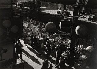 Street Market, 1937 by Aaron Siskind (1903-1991, United States) | Art Reproduction | WahooArt.com