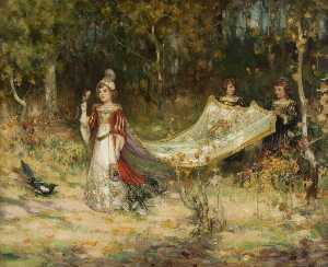 Thomas Bromley Blacklock - The Little Princess
