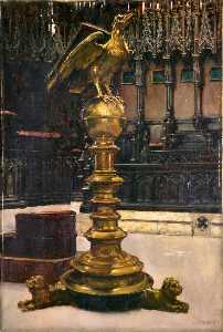 Alfred George Webster - Lectern, Lincoln Cathedral