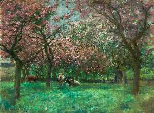 Alfred George Webster - Mr Bland's Orchard, Heighington, Lincoln
