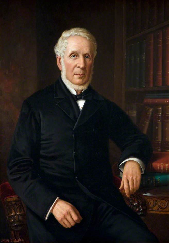 Reverend George Hill (1810–1900), Oil On Canvas by Harry R Douglas