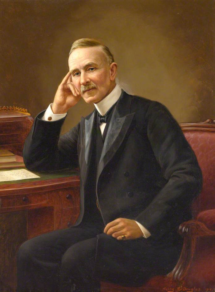 Portrait of a Gentleman, 1900 by Harry R Douglas | Museum Quality Reproductions | WahooArt.com