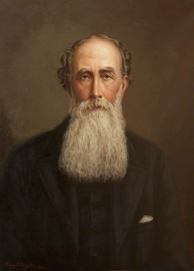 Order Oil Painting : William Farrant (1826–1891), Member of the House of Keys (1858–1890), 1923 by Harry R Douglas | WahooArt.com