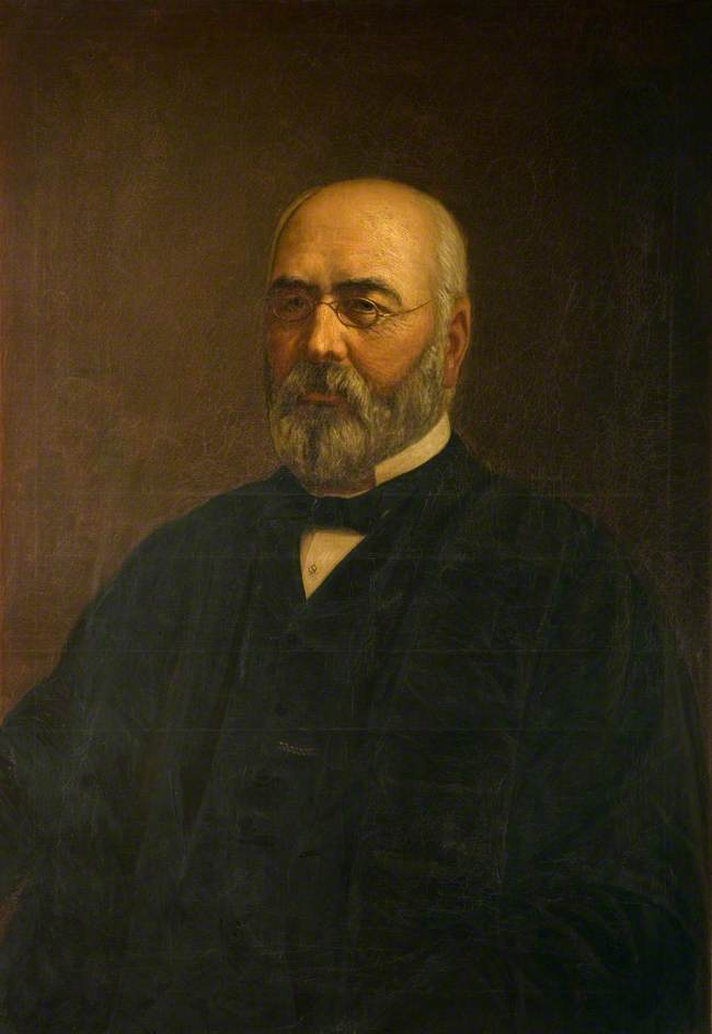 Order Famous Paintings Reproductions : Professor James Cuming (1833–1899) by Harry R Douglas | WahooArt.com