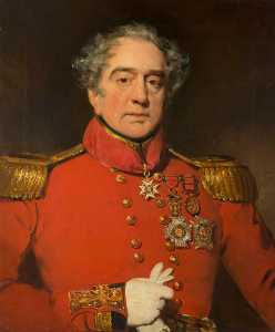 John Watson Gordon - Major General Sir Patrick Lindsay (1778–1839), Soldier