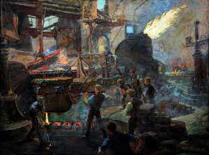 William Holt Yates Titcomb - The Wealth of England, the Bessemer Process of Making Steel