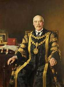 Frank Richards - Alderman Sir Charles Cartwright (1862–1959), Mayor of Bournemouth (1919–1922 1928)