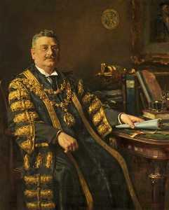 Frank Richards - Alderman Harry J. Thwaites (1869–1931), Mayor of Bournemouth (1925–1927)