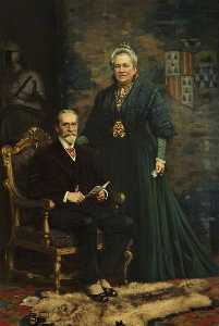 Frank Richards - Sir Merton Russell Cotes (1835–1921), and Lady Annie Russell Cotes (1835–1920)