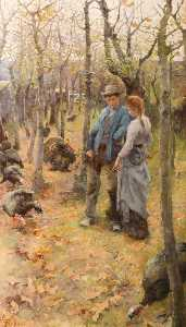 Elizabeth Adela Stanhope Forbes - The Edge of the Woods