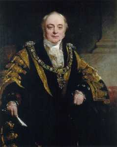 John Prescott Knight - Sir John Musgrave, Bt, Lord Mayor of London (1851)