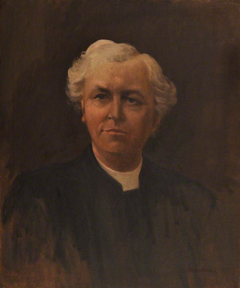 Thomas Charles Williams, Oil On Canvas by Harry Hughes Williams