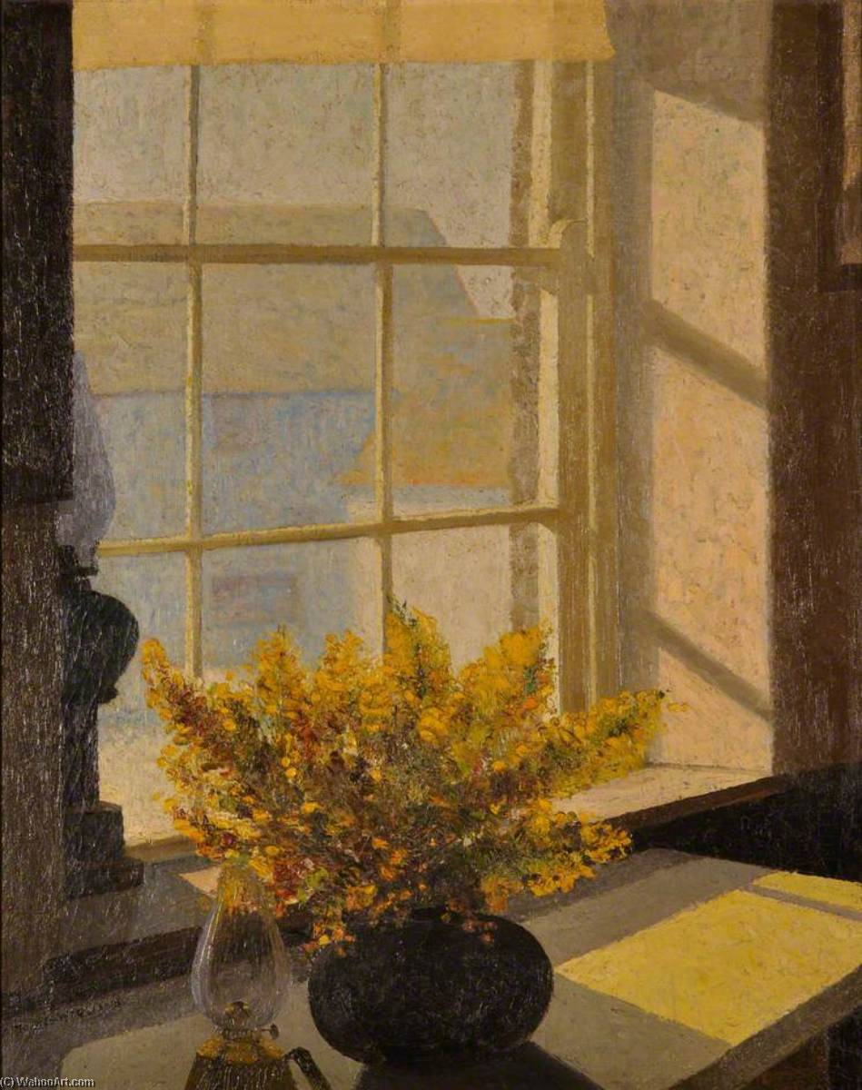 The Window, Oil On Canvas by Harry Hughes Williams