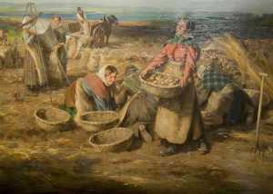 William Marshall Brown - Waling Potatoes