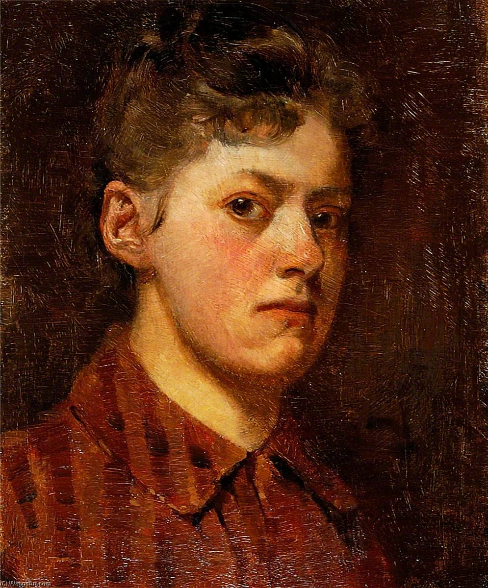 Self Portrait, 1910 by Rose Mead | Famous Paintings Reproductions | WahooArt.com