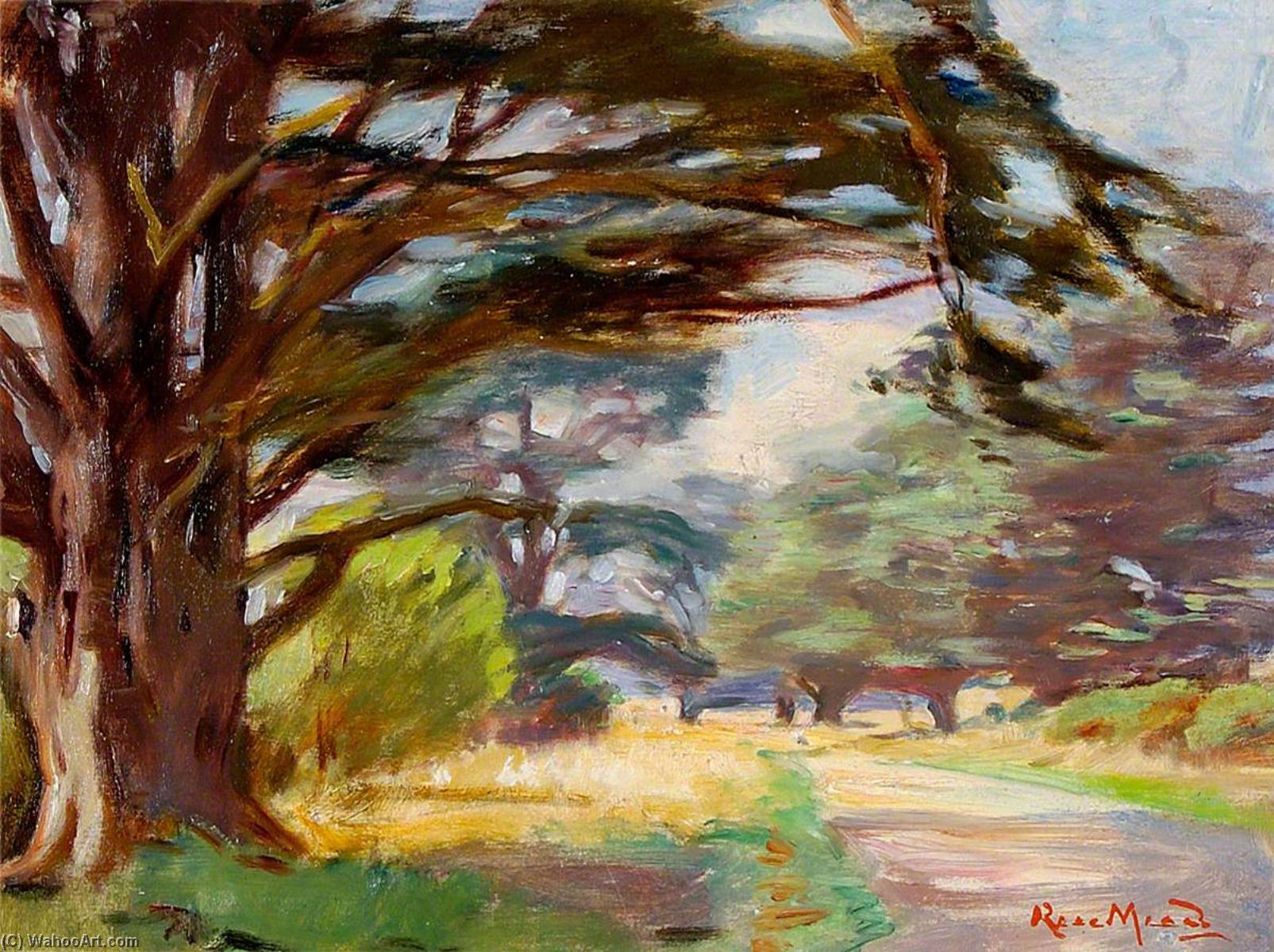 Path and Trees, 1930 by Rose Mead | WahooArt.com