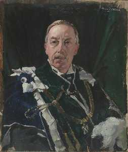 David Alison - Walter John Francis Erskine (1865–1955), 12th Earl of Mar and 14th Earl of Kellie
