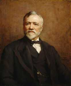 Catherine Ouless - Andrew Carnegie (1835–1919), Ironmaster and Philanthropist (after Walter William Ouless)