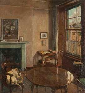 David Alison - The Interior of 78 Queen Street