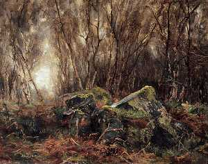Albert Ernest Bottomley - Meanwood Woods, Leeds