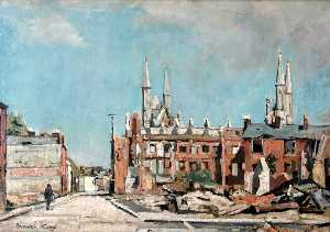Edward Robert King - St Paul's Road and St Paul's Church, Portsmouth