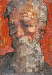 Hugh Oswald Blaker - Self Portrait