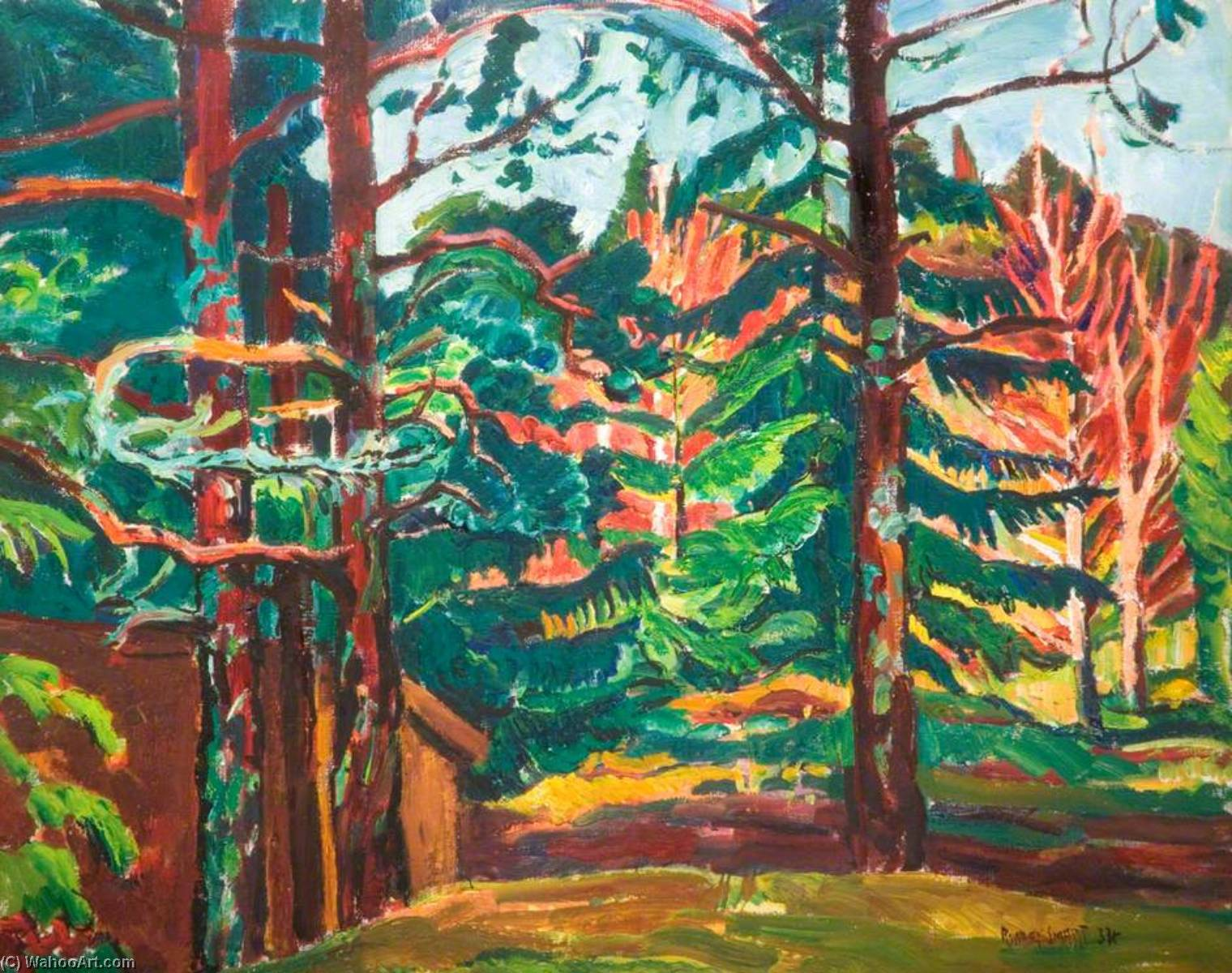 Swedish Landscape, 1934 by Rowley Smart | Art Reproduction | WahooArt.com