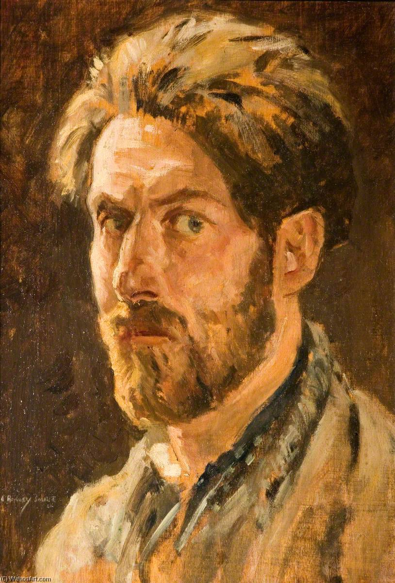 Self Portrait, 1922 by Rowley Smart | Oil Painting | WahooArt.com