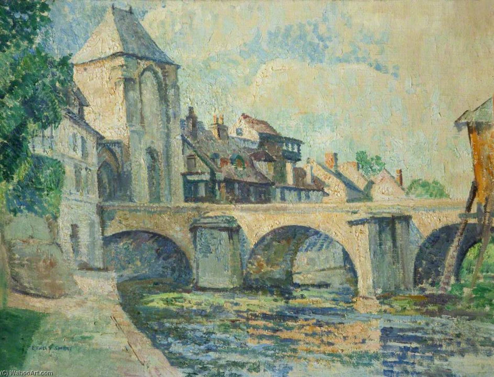 Moret sur Loing by Rowley Smart | Art Reproduction | WahooArt.com
