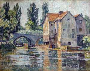 Rowley Smart - The Mill, Moret sur Loing, France