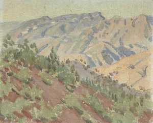 Dora Altounyan - Mountains and Valleys Foothills of the Amanus