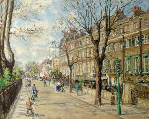 Fairlie Harmar - Cheyne Walk, April 1939