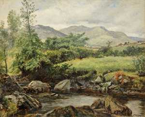 Frederick William Hayes - On the Colwyn, Beddgelert