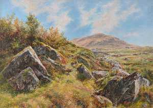 Frederick William Hayes - Near Snowdon