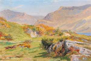 Buy Museum Art Reproductions | Snowdon, 1883 by Frederick William Hayes | WahooArt.com