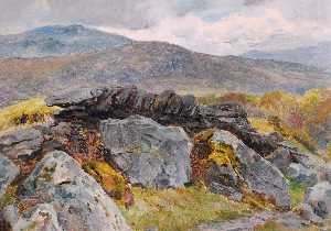 Frederick William Hayes - Rock and Mountains