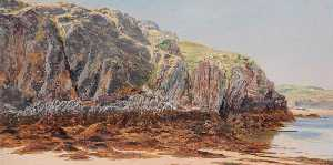 Frederick William Hayes - Llanddwyn Cliffs II