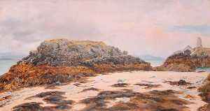 Frederick William Hayes - Llanddwyn Tower