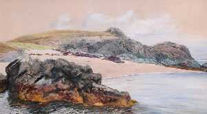 Frederick William Hayes - Porth Y Gwenith (unfinished)
