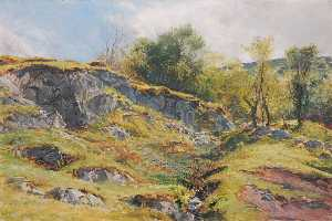 Order Paintings Reproductions | Ty Mawr, 1883 by Frederick William Hayes | WahooArt.com