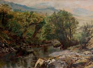 Frederick William Hayes - Pool in Colwyn