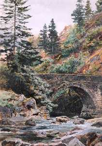 Frederick William Hayes - Pont Aberglaslyn
