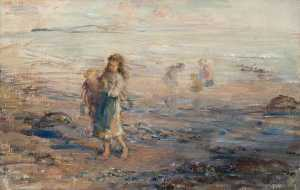Hugh Cameron Wilson - Evening on the Shore