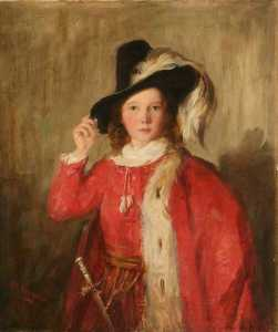 George Paul Chalmers - The Young Cavalier